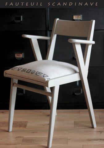 Le relooking du fauteuil scandinave