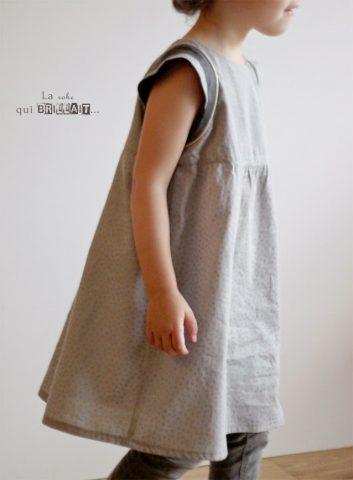 La robe qui brillait…