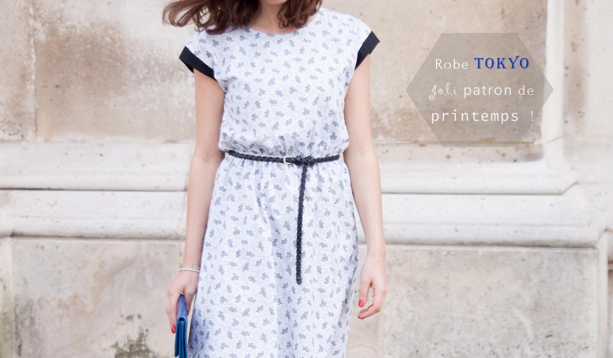 1cada19fb9 Nouveau patron: robe TOKYO pour femme | Atelier Scammit