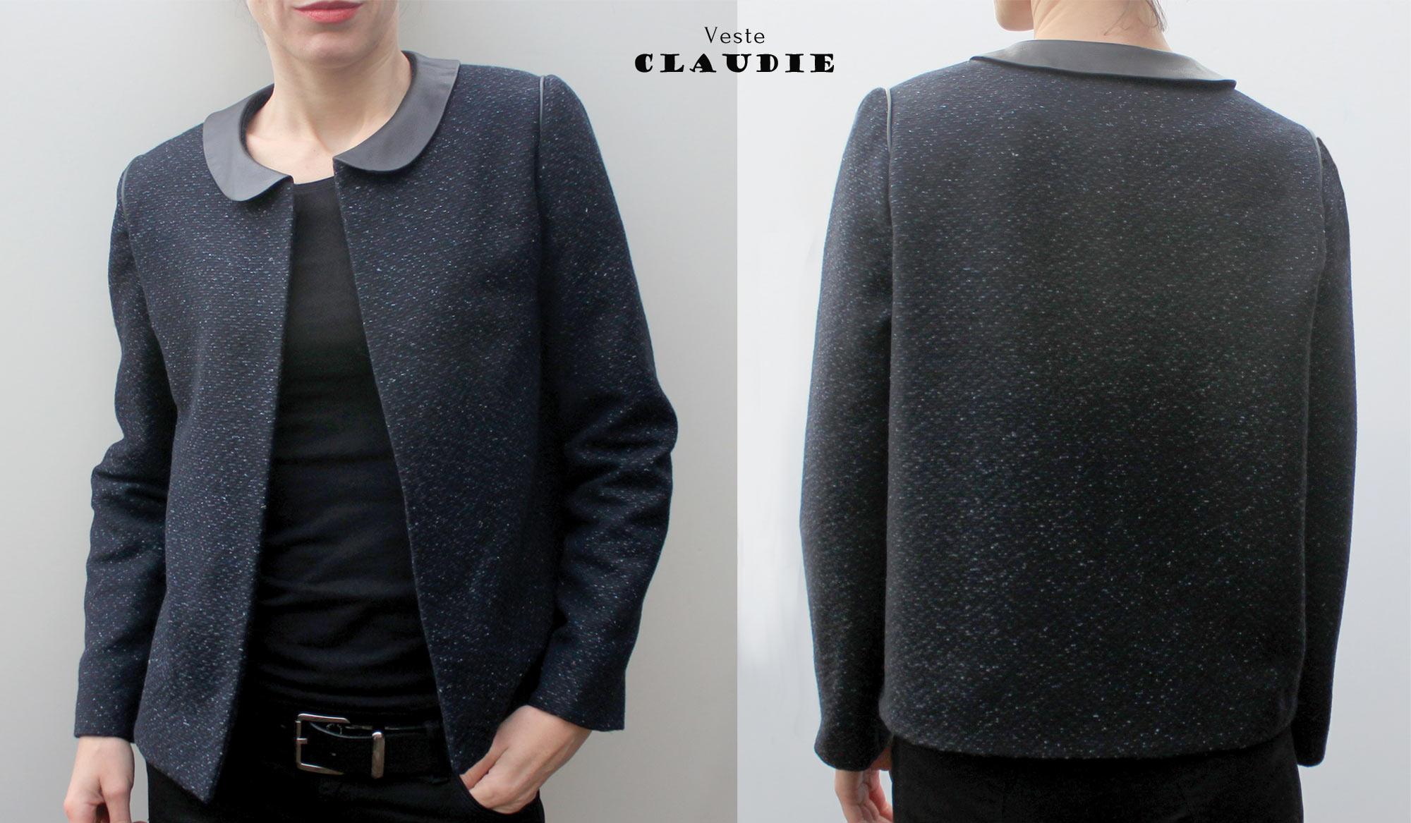 Hervorragend Veste Claudie // Nouveau patron | Atelier Scammit MK75