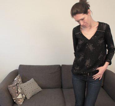 Be Pretty déclinée en blouse