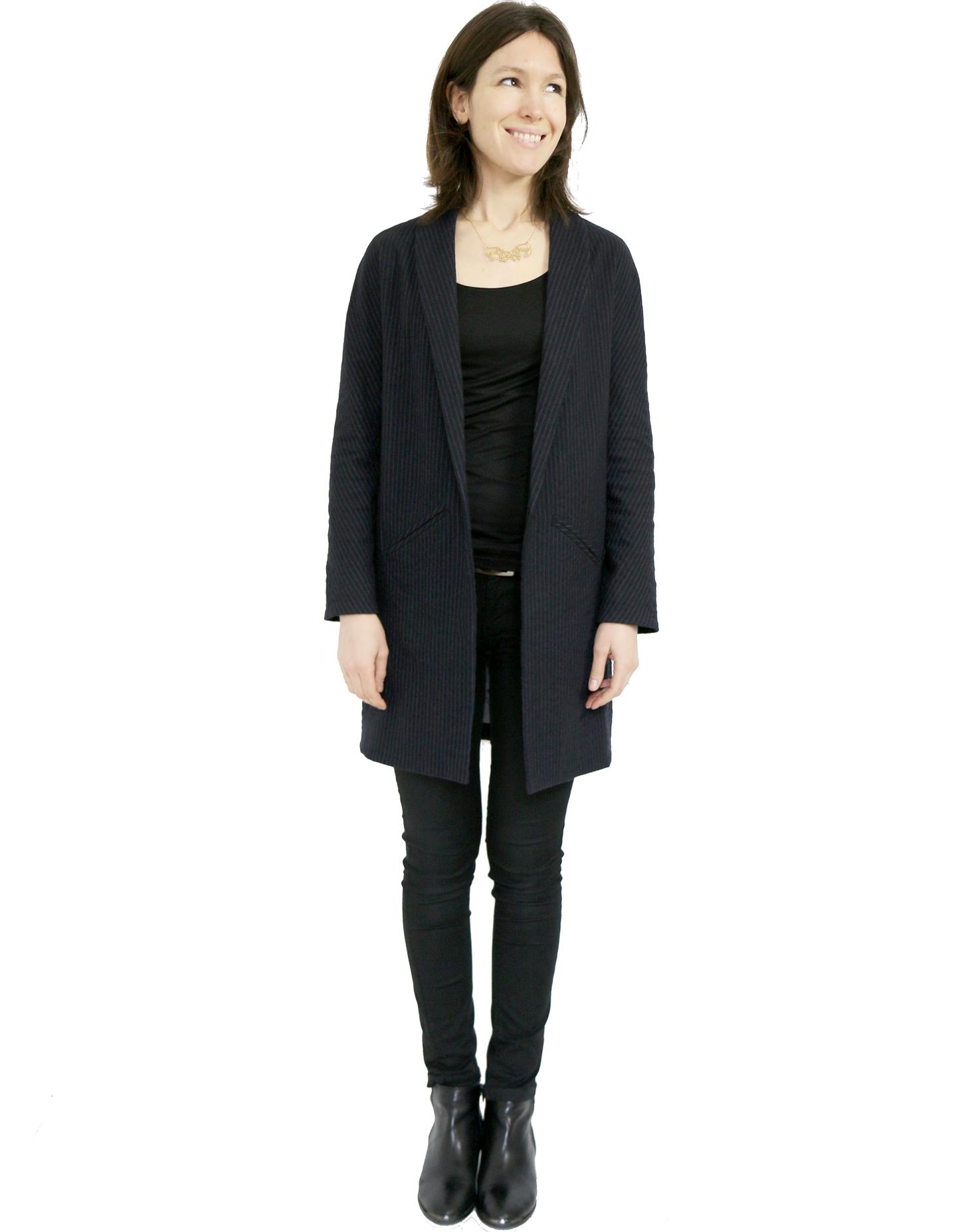 Quel lainage pour le manteau france duval stalla for Couture atelier